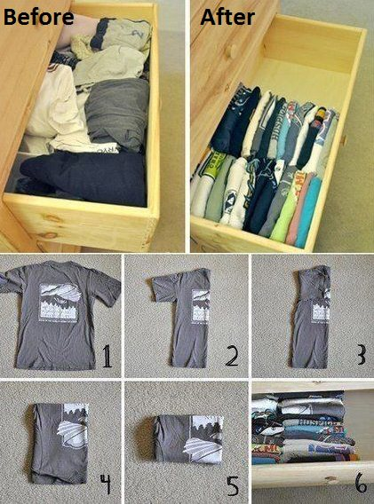 Folding Clothes the Right Way