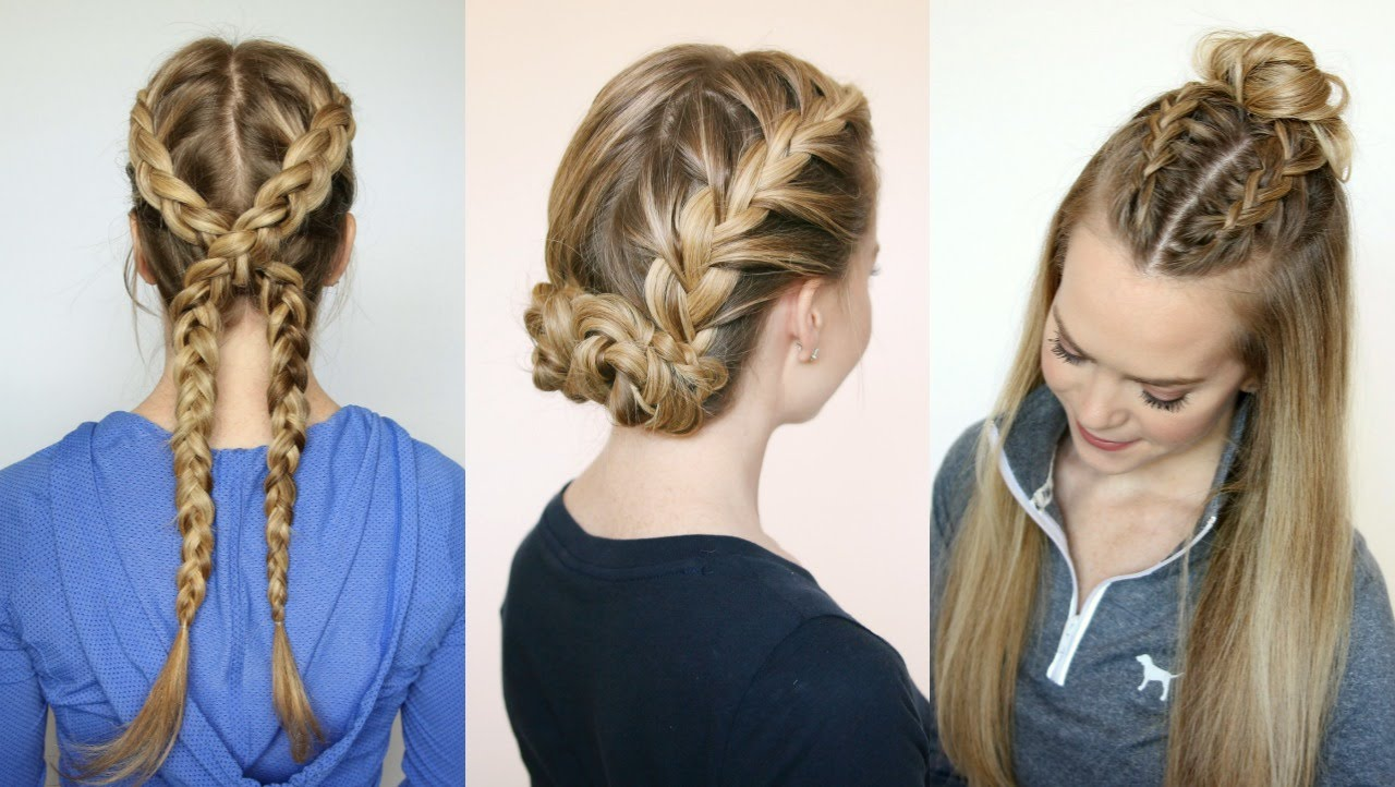 10 Cute And Easy Hairstyles For Middle School Girls ...